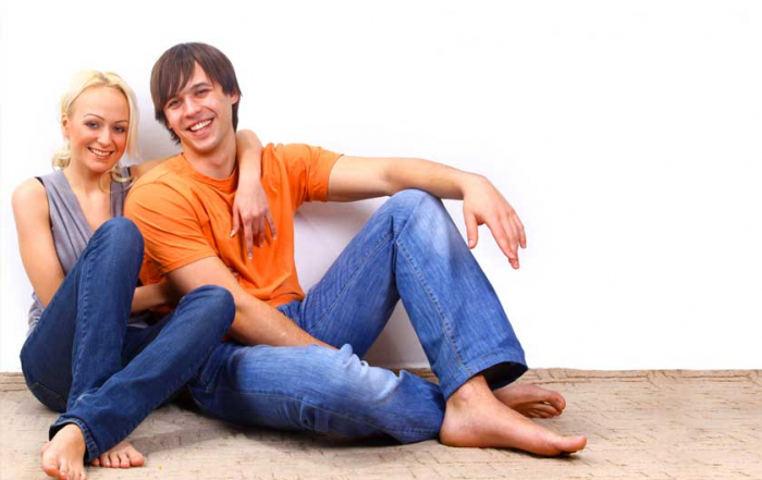 Mladý pár má nový byt