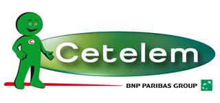 Logo od poskytovatele Cetelem půjček Paribas Personal Finance.