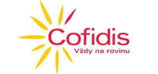 Logo od poskytovatele nebankovních půjček Cofidis