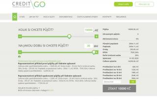 CreditGo půjčka recenze