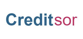 Logo od poskytovatele půjček do 4 500 Kč Creditsor.