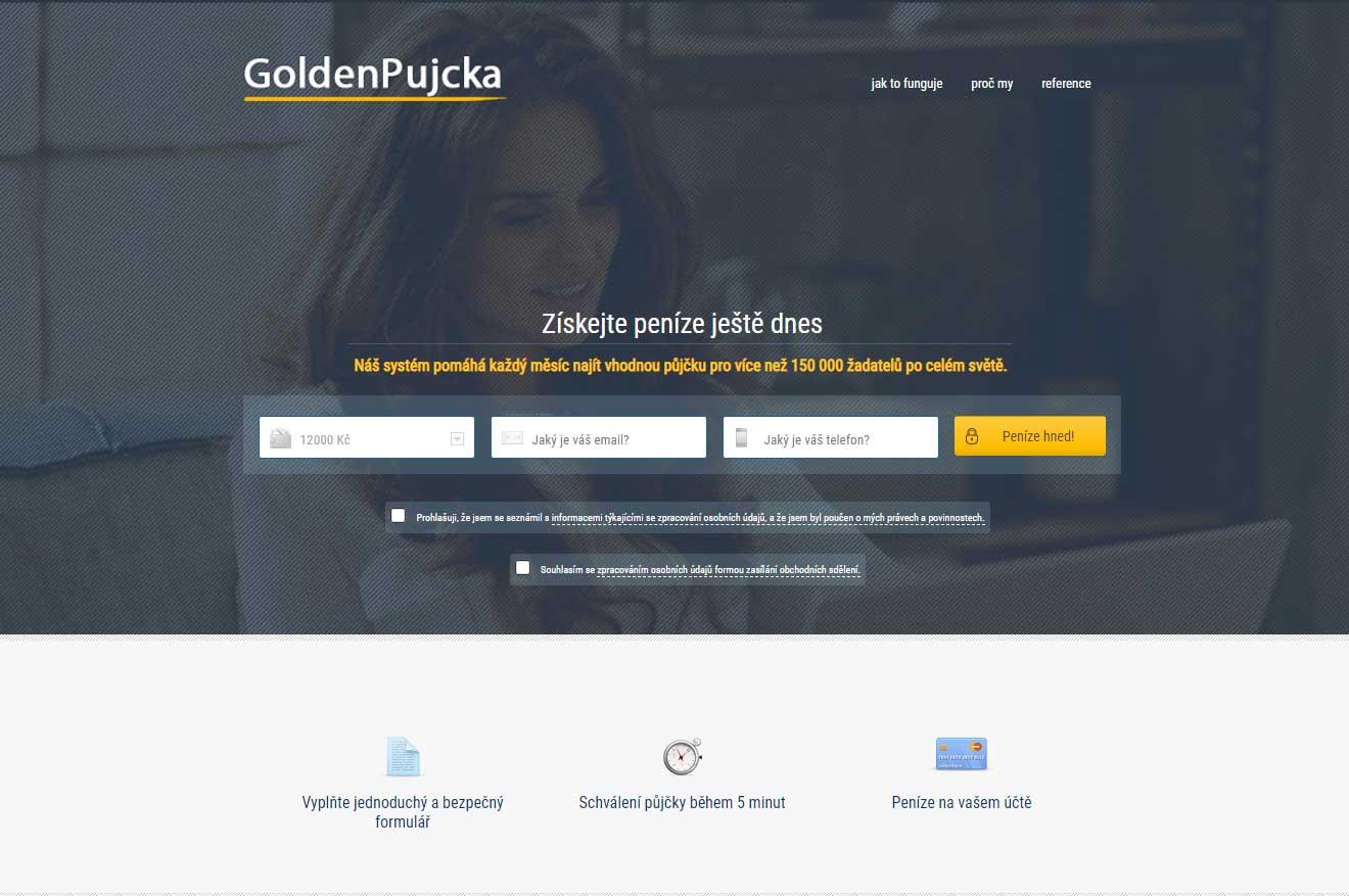 Golden půjčka recenze