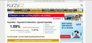 Hypotéky na kurzy.cz