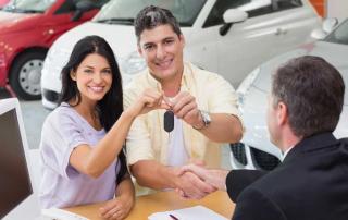 Koupě nového auta