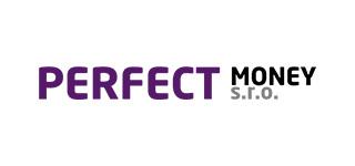 Logo od poskytovatele půjček Perfect Money.