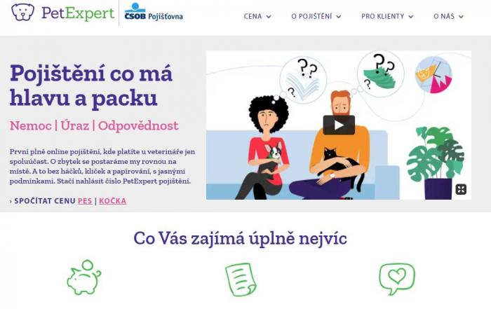 Recenze pojištění psů a koček od PetExpert
