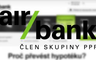 Převeďte svou hypotéku k Air Bank a ušetřete.