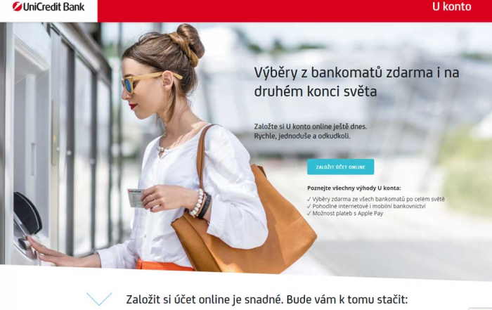 Recenze U konta od UniCredit Bank