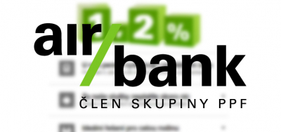 Založte si účet zdarma u Air Bank.