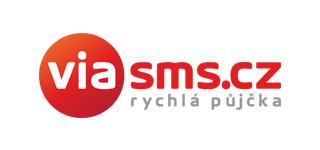 Logo od poskytovatele malé půjčky do výplaty Via SMS s.r.o.